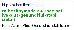 http://ro.healthymode.eu/knee-active-plus-genunchiul-stabilizator/